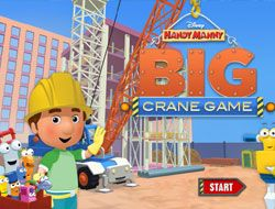 Handy Manny Big Crane Game