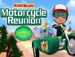 Handy Manny Motorcycle Reunion