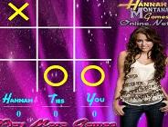 Hannah Montana Tic Tac Toe