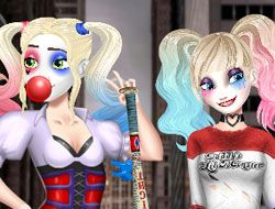 Harley Quinn Hair And Make Up Studio