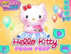 Hello Kitty Prom Prep