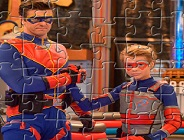 Henry Danger and Captain Man Puzzle