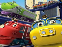 Hidden Numbers Chuggington