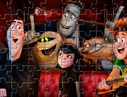 Hotel Transylvania Characters Puzzle
