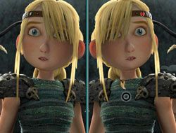 How to Train Your Dragon Spot the Difference