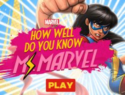 How Well Do You Know Ms Marvel