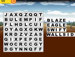Inazuma Eleven Wordsearch