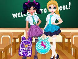 Jacqueline and Eliza School Bag Design Contest