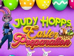 Judy Hoops Easter Preparation