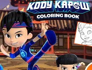 Kody Kapow Coloring Book