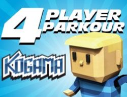 Kogama: 4 Player Parkour