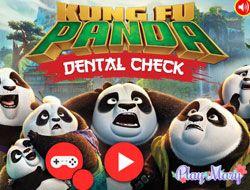 Kung Fu Panda Dentist Checkup