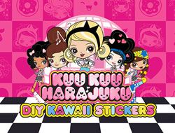 Kuu Kuu Harajuku DIY Kawaii Stickers