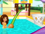 Lego Friends Pool Basket