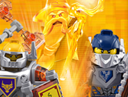 Lego Nexo Knights Tic Tac Toe