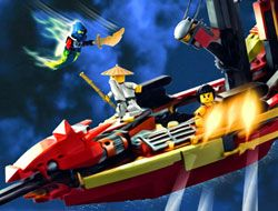 Lego Ninjago Morro Attacks