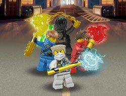 Lego Ninjago Under Attack