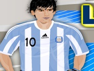 Lionel Messi Dress Up