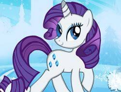 Little Pony Rarity Dressup
