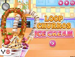Loop Churros Ice Cream