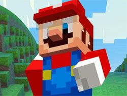 Mario Craft Runner
