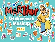 Marthur Stickerbook Mashup