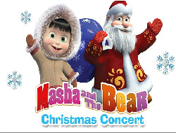 Masha and the Bear Christmas Puzzle