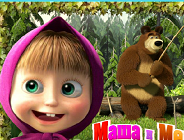 Masha and the Bear Go Fishing