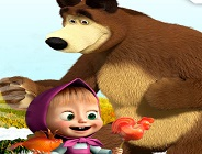 Masha and the Bear Jelly Match