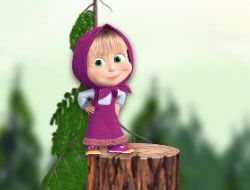 Masha and the Bear Jump Day