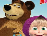Masha and the Bear Memory Match