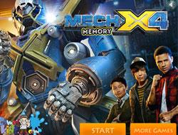 Mech-X4 Memory Matching