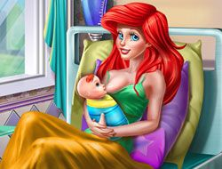 Mermaid Princess Mommy Birth
