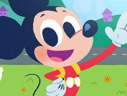 Mickeys Shape and Make Road Trip