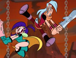 Mighty Magiswords Hot Foot It