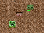 Minecraft Steve Vs Creepers