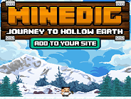 Minedic Journey to Hollow Earth