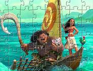 Moana Characters Puzzle