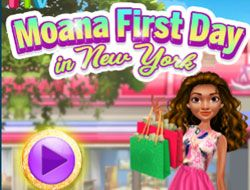 Moana First Day in New York