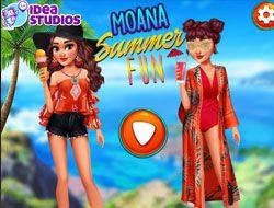Moana Summer Fun