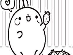 Molang Coloring