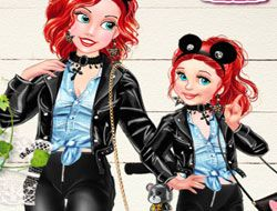 Mom and Daughter Cute Family Look