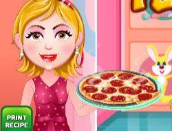 Moms Recipes Pepperoni Pizza
