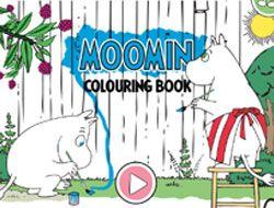 Moomin Coloring Book