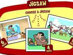 Mr Bean Jigsaw