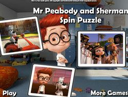 Mr Peabody and Sherman Spin Puzzle