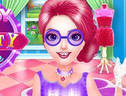 Nerdy Girl Beauty Time