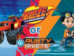 Nick Jr: Blaze or Rusty Quiz