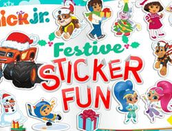 Nick Jr Festive Sticker Fun