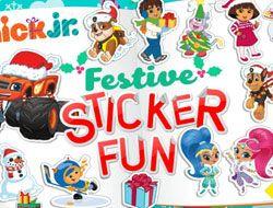 Nick Jr Festive Sticker Fun